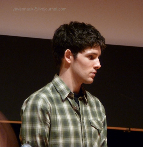 yavannauk:  Colin looking like he was off in a dream world!