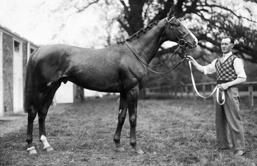 Omaha, U.S. 1935 Triple Crown winner.