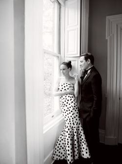 vogue:  Sarah Jessica Parker and Matthew Broderick Photographed for the August Issue of Vogue by Mario Testino