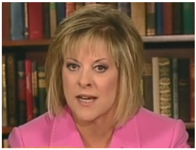 chriskelly:  Nancy Grace Seen In Graveyard Sucking Marrow From Caylee Anthony's Bones The best.