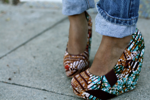 "materialistichic:  Aldo ""Forwood"" wedges…i LOVE EM!"