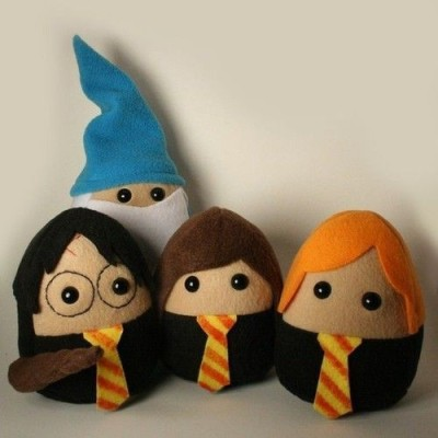 Harry Potter Plushies! (via pinterest)