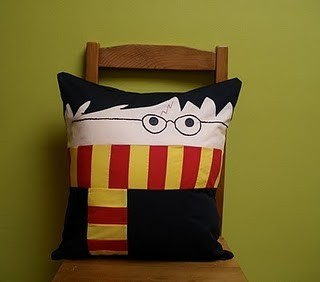 I think I would like this Harry Potter pillow. (via Pinterest)