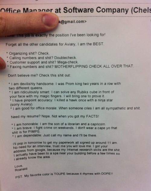 xmicahh:  This guy has the best resume ever.