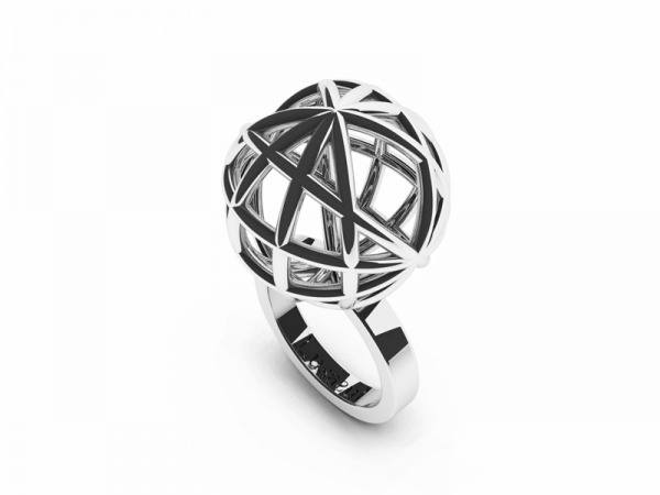 Gorgeous Sphere Ring by LUSASUL