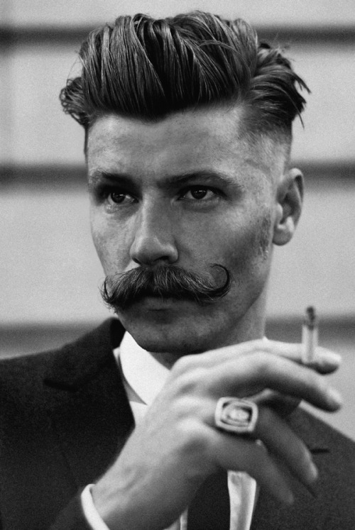 now if only I can find myself a man with a 'tache like that!