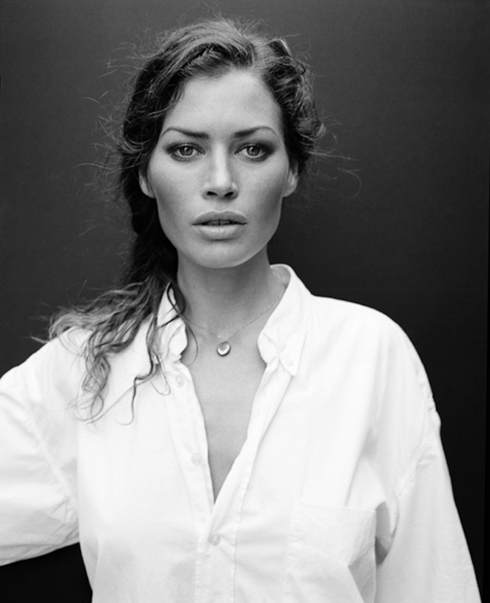 From my archive, the timeless beauty of Carre Otis for H&M, shot on the beaches in Malibou…