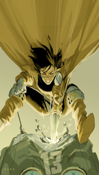 philnoto:  Battle Angel Alita: Gally Goes To Town