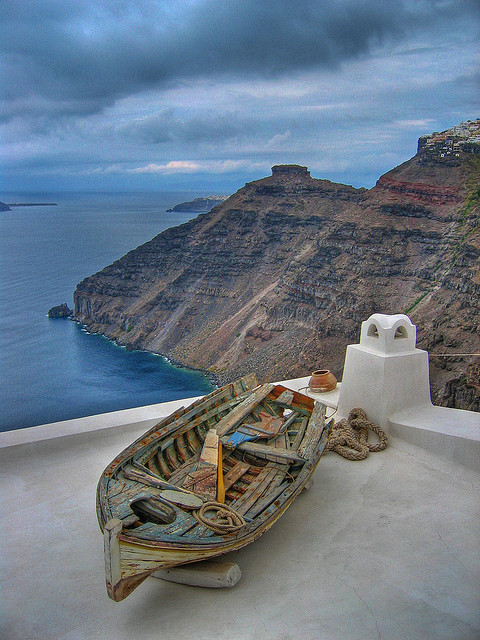 Santorini Houseboat by dcis_steve on Flickr.