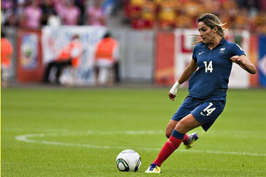 France midfielder Louisa Necib will be a primary concern for the US in its semifinal match of the Women's World Cup Wednesday. (NEWSCOM) The USA vs. France match in the Women's World Cup Wednesday marks a clash between the old guard and one of the upstart nations that could reshape the game of women's soccer. USA vs. France: How Women's World Cup 2011 could be game-changer
