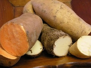 New and winning ways with the humble (yet exquisite) African yam!  Click the photo for recipes!