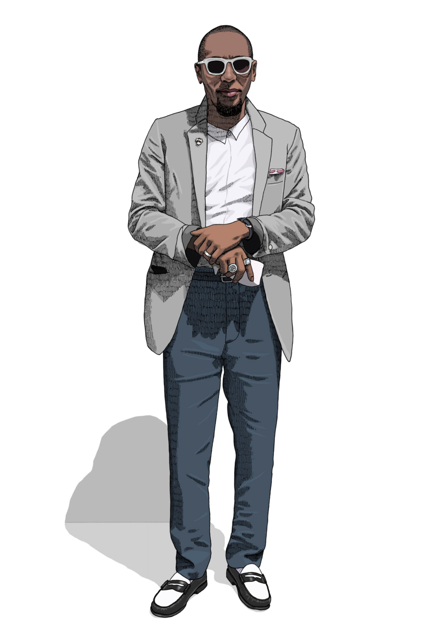 wearethemarket:  Street Style Illustrated: Mos Def