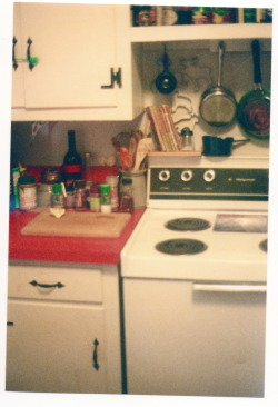 my tiny kitchen. 1978 canon a-1, 07 12 2011
