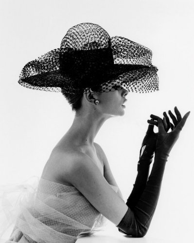 Madame Paulette Net Hat (1963). John French.