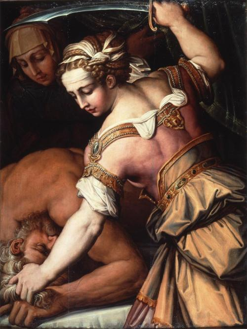 Giorgio Vasari. Judith and Holofernes. ca. 1554. Oil on panel. Saint Louis Art Museum. St. Louis, MO. USA.