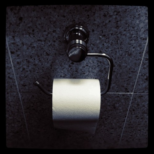 v.i.p room #iphoneography #puertorico #bathroom #vip #toiletpaper #white (Taken with Instagram at JWT Puerto Rico)