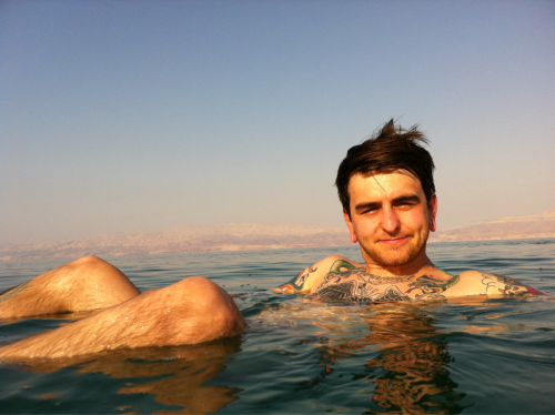 Dead sea, lads on tour 2011