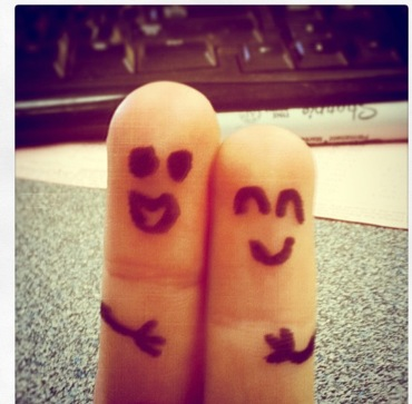 Cute finger friends