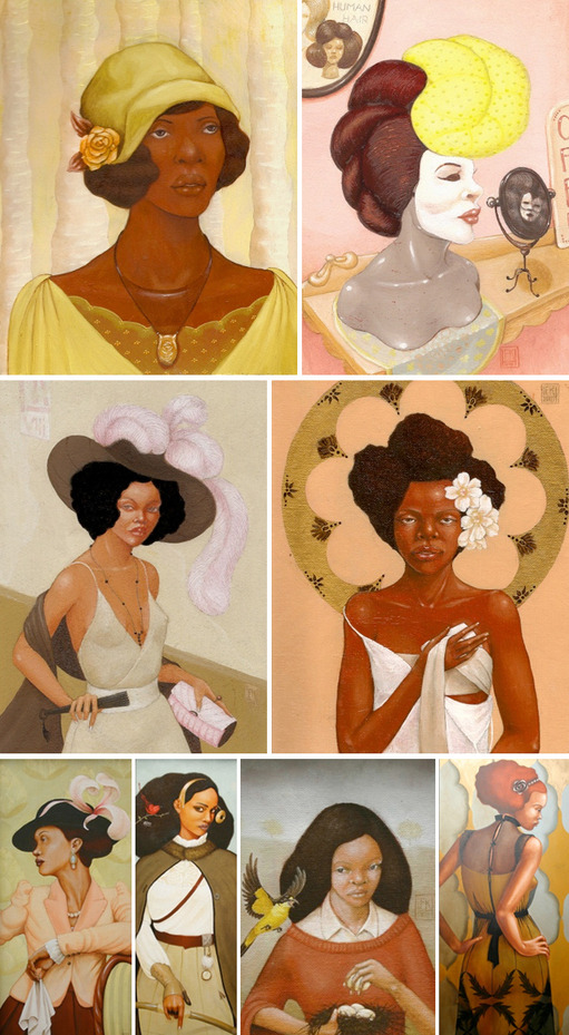 saucybit:  Frida Kamau-Hathorn is a new inspiration i found while researching Ms. Kahlo. How fitting to love two Fridas.