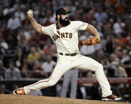"Brian Wilson ""Fear The Beard"" 2011 All Star Game"