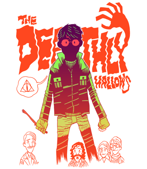 The Deathly Hallows by Dan Hipp
