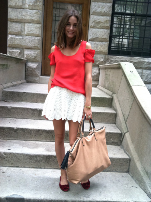 prepfection:  Olivia Palermo for Tibi  love that top.