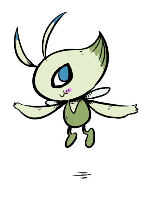#251-Celebi Gen 2 is done! Gen 3, heeeeree weee go.