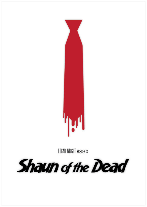 minimalmovieposters:  Shaun of the Dead by Sabrina Jackson