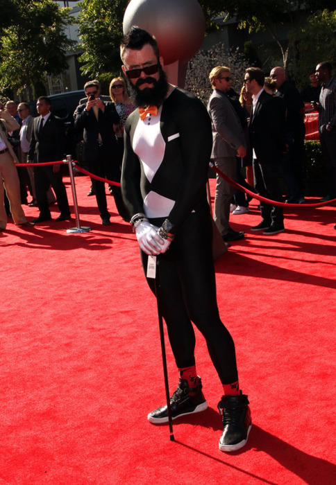 Brian Wilson @ The Espy's. Really? He wore what now?..