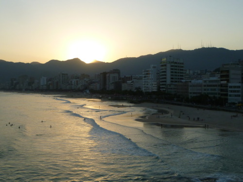 sunset on Ipanema..good days