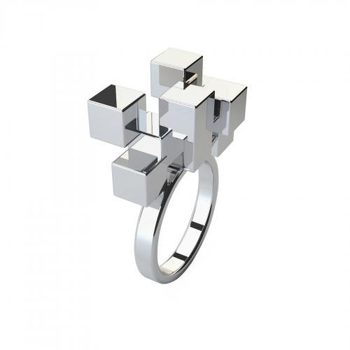 Another amazing LUSASUL creation. Cubic Ring.
