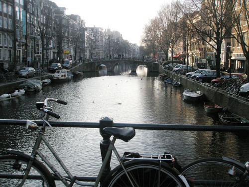 see you in a week :) one-euro:  canal. by mayhem&miscellany on Flickr.