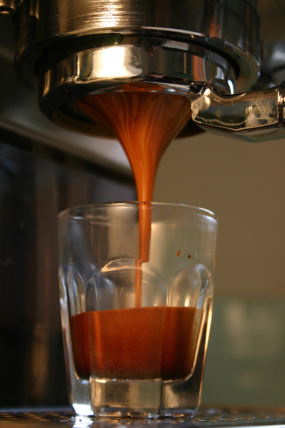 cafeamour:  Espresso (By Trundle Buggy)     My essential fuel to get my day started.