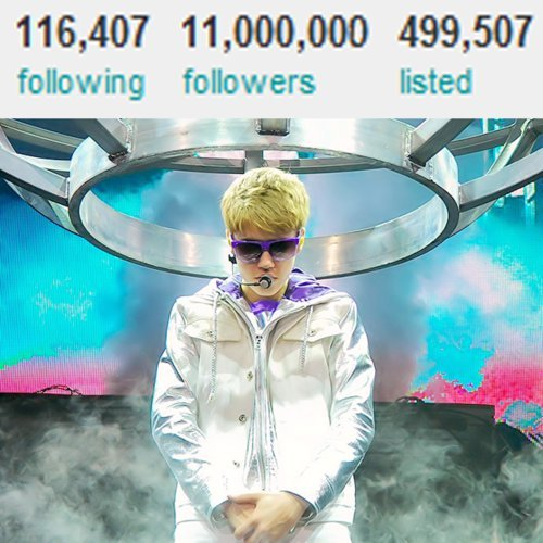 11 MILLION BELIEBERRSSSS!