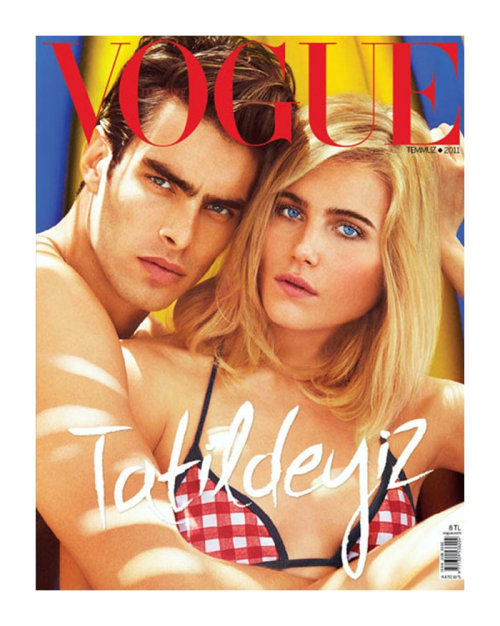 Jon Kortajarena for Vogue Turkey With Dree Hemingway