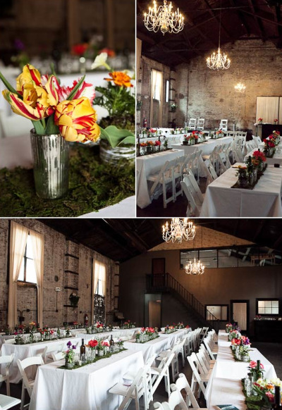 sweepmeup:  Loving this wedding venue setup! Gorgeous.