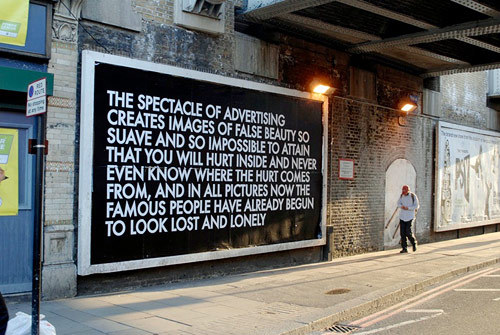 The Spectacle of Adveritising - Robert Montgomery