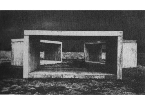 DONALD JUDDCONCRETE WORK / MARFA, TEXAS, 1980-84