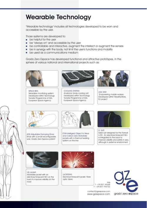 Wearable Technology Costum Integration - Tailor made technology integration - Bespoke Innovation