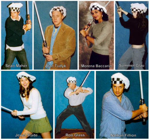 swarleystinson:   Some of the cast of Firefly as Jedi Chefs! (From www.jedichefs.com)  Fuck yeah