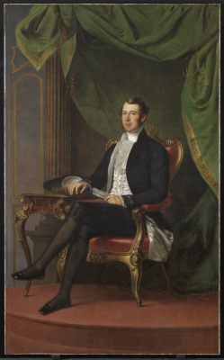 Portrait of William Henry Boulton, 1846 George Theodore Berthon (Canadian) Painting, oil on canvas, 208.3 x 144.8 cm Goldwin Smith Collection, Bequest of 1911