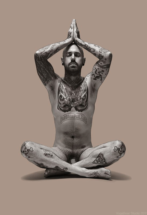 enlightenmentofman: YogaBear Studio Trevor Wayne