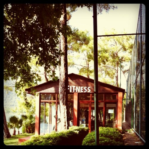 The last holiday workout (Taken with Instagram at Imperial Hotel)