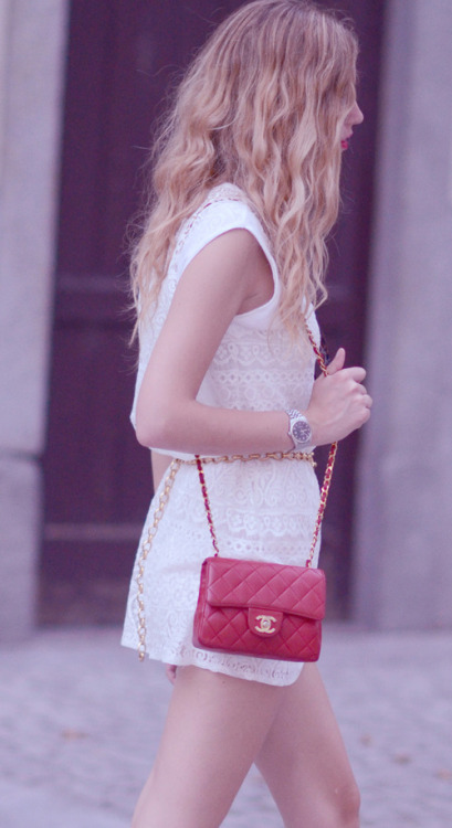 The Blonde Salad: Wearing flats and lace on We Heart It. http://weheartit.com/entry/11921982