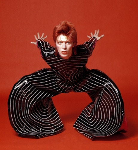 From Ziggy Stardust to Let's Dance, David Bowie has made rock and roll history time and again. But at 64, the king of glam's greatest work of art is still himself. In these exclusive photos on Rollingstone.com, Japanese photographer Masayoshi Sukita captures some of Bowie's signature looks and a few that we've never seen before (the Bowie clock?) Bowie and Sukita's collaboration has spanned 40 years resulting in thousands of previously unreleased candids, outtakes, and iconic portraits, the most recent of which were taken in 2009. Their upcoming book Speed of Life contains never before seen photographs from Sukita's archive, presented along with David Bowie's commentary.