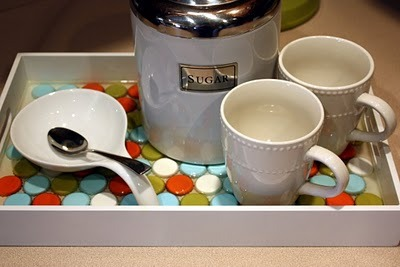DIY – Bottle Cap Tray