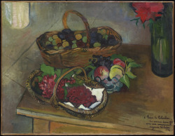 Nature morte aux fruits et aux fleurs, 1926 Suzanne Valadon (French) Painting, oil on canvas, 50.3 x 65.4 cm Gift from the Estate of R. Fraser Elliott, 2005