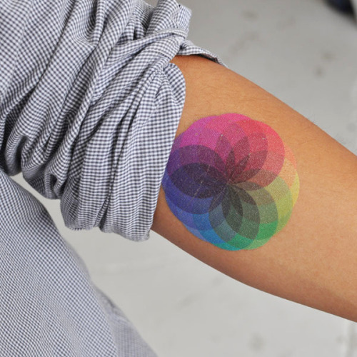 "Tattly is ""a temporary tattoo store for design-minded kids and kids-at-heart."" Read more."