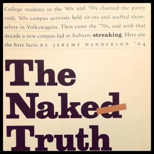 The Naked Truth (Taken with instagram)