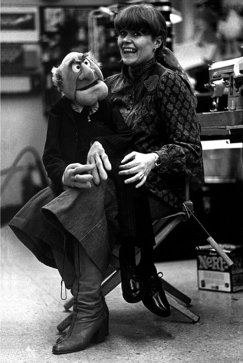 The woman behind Miss Piggy, Bonnie Erickson, 1975.